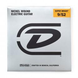 Jim Dunlop DESBN0952 Super Bright Light 7 Telli Elektro Gitar Teli (.009-.052)