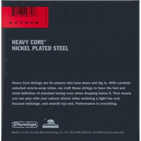 Jim Dunlop DHCN1060-7 Heavy Core 7 Telli Elektro Gitar Teli (.010–.060) - Thumbnail