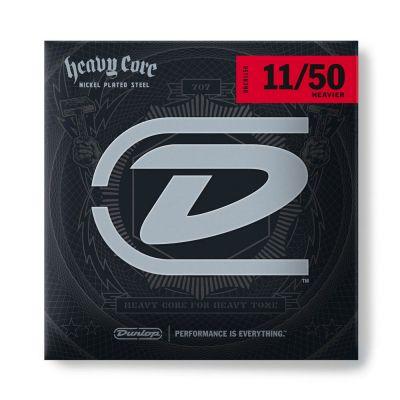 Jim Dunlop DHCN1150 Heavy Core Nickel Wound Takım Tel (11 - 50)