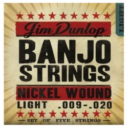 Jim Dunlop - Jim Dunlop DJN0920 Nikel Banjo Teli (.009–.020)