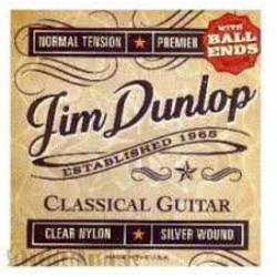 Jim Dunlop - Jim Dunlop DPV102B Premier Series Ball Ends Normal Tension Klasik Gitar Teli