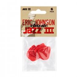 Jim Dunlop - Jim Dunlop Eric Johnson Signature Jazz III 6'lı Pena Seti
