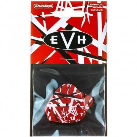 Jim Dunlop - Jim Dunlop EVHP02 Eddie Van Halen Frankenstein 60mm 6lı Pena (