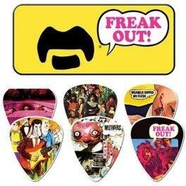 Jim Dunlop - Jim Dunlop Frank Zappa Freak Out 6 'lı Pena Seti