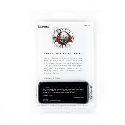 Jim Dunlop GNR002 0.73mmGuns'N Roses 6'lı Pena Seti