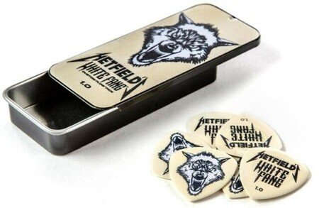 Jim Dunlop - Jim Dunlop Hetfıeld's Whıte Fang™ Custom Flow® 1.0mm Kutu Pena
