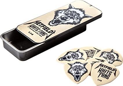 Jim Dunlop - Jim Dunlop Hetfıeld's Whıte Fang™ Custom Flow® 1.14mm Kutu Pena