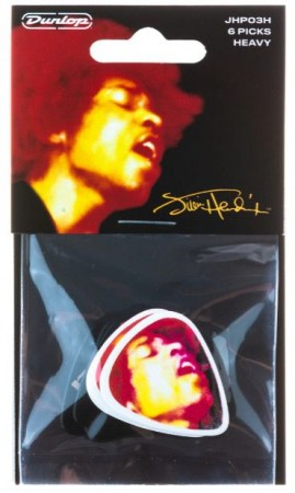 Jim Dunlop - Jim Dunlop JHP03H Hendrix Electric Lady 6lı Pena