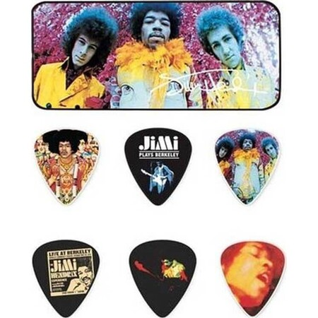Jim Dunlop - Jim Dunlop Jimi Hendrix Are You Experienced 12′li Pena Seti