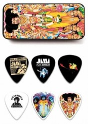 Jim Dunlop Jimi Hendrix Bold As Love 12'li Pena Seti