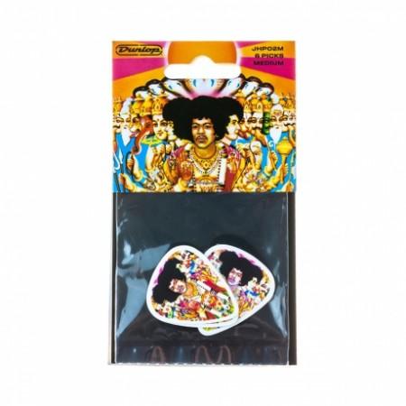 Jim Dunlop - Jim Dunlop Jimi Hendrix Bold As Love 6lı Pena