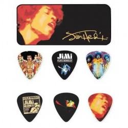 Jim Dunlop - Jim Dunlop Jimi Hendrix Electric Ladyland 12'li Pena Seti