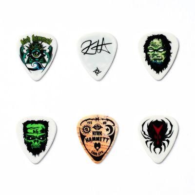 Jim Dunlop KH01T088 Kirk Hammett Signature 0.88mm 6'lı Pena Seti