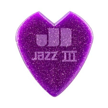 Jim Dunlop - Jim Dunlop Kirk Hammett Signature Purple Sparkle Jazz III Tekli