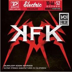 Jim Dunlop KKN1052 Kerry King Icon Series 7 Telli Elektro Gitar Teli (10-46 +52)