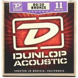 Jim Dunlop Medium-Light 80/20 Bronze DAB1152 Akustik Gitar Teli (11-52) Ürün Kodu: