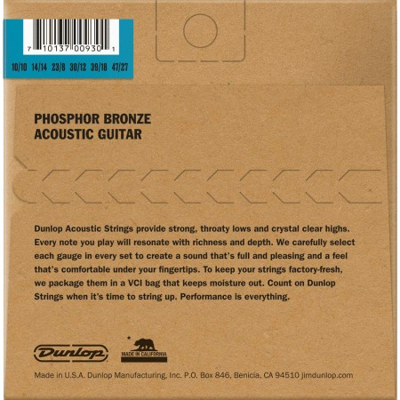 Jim Dunlop Phosphor Bronze DAP1047J 12 Telli Akustik Gitar Teli (10-47 - 10-27) - Thumbnail