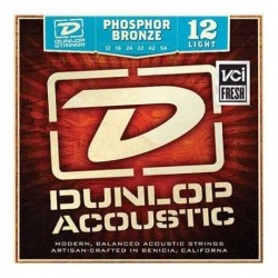 Jim Dunlop Phosphor Bronze DAP1254 Akustik Gitar Teli (12-54)