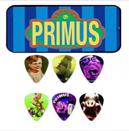 Jim Dunlop - Jim Dunlop Primus Pick 6'lı Medium Signature Pena Seti