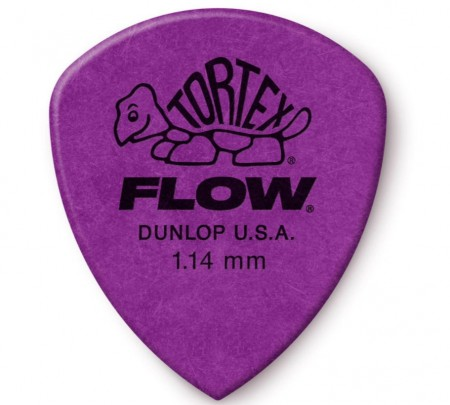 Jim Dunlop - Jim Dunlop Tortex Flow 1.14mm Gitar Penası