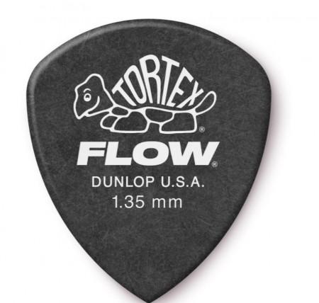 Jim Dunlop - Jim Dunlop Tortex Flow 1.35mm Gitar Penası