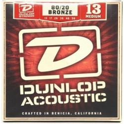 Jim Dunlop - Jim Dunlop Medium 80/20 Bronze DAB1356 Akustik Gitar Teli (13-56)