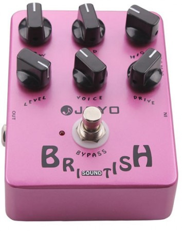 Joyo - Joyo JF16 British Sound Elektro Gitar Efekt Pedalı