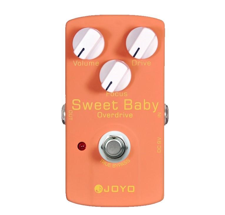 Joyo JF36 Sweet Baby Overdrive Pedalı