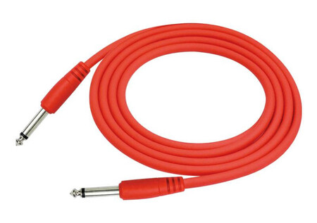 Kirlin - Kirlin IC-241 Kırmızı 3 Metre Enstrüman Kablosu