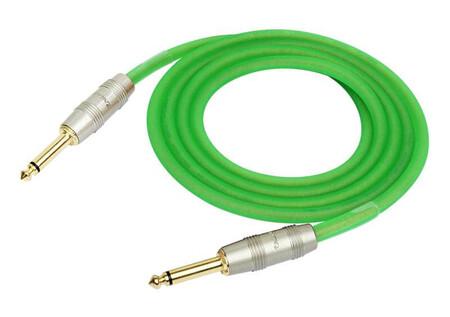 Kirlin IM-201PRG Premium 3 Metre Yeşil Enstrüman Kablosu - Thumbnail