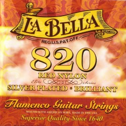 La Bella - La Bella Strings Elite Series Flamenco Red Nylons - Klasik Gitar teli