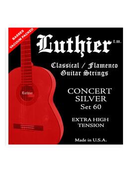 Luthier Set60 Nylon/ Extra High Tension Klasik Gitar Teli