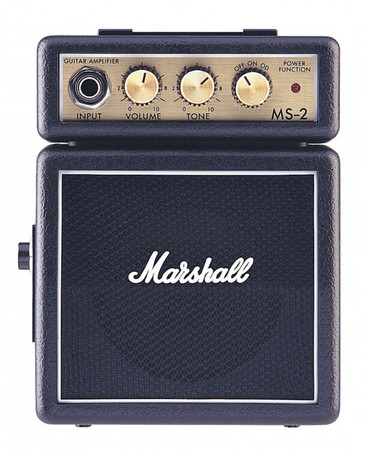 Marshall MS-2 Pilli Mikro Amfi - Siyah