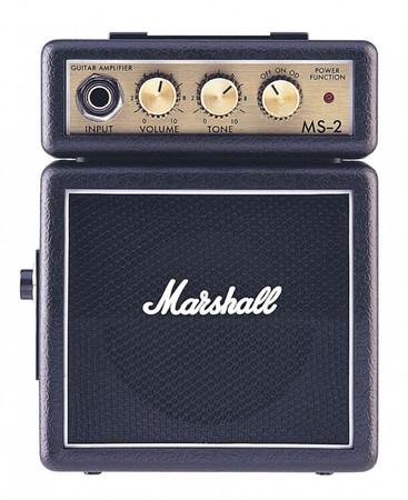 Marshall - Marshall MS-2 Pilli Mikro Amfi - Siyah