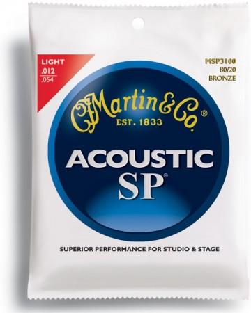 Martin - Martin Bronze MSP3100 Light Akustik Gitar Teli
