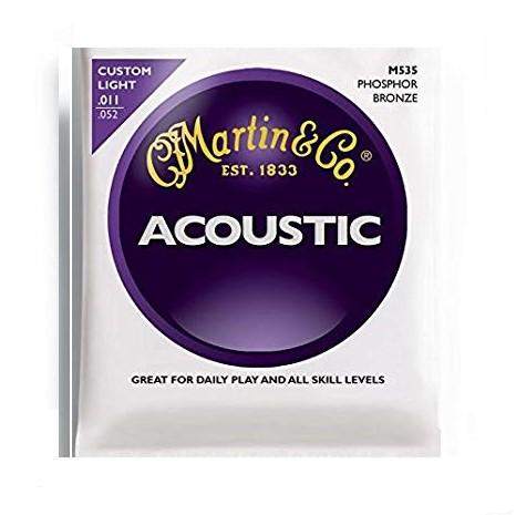 Martin & Co Martin Phosphor Bronze M535 11-52 - Akustik Gitar Teli