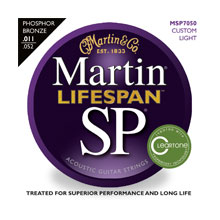 Martin Phosphor Bronze MSP7050 - 92/8 (Custom Light) 11-52 Akustik Gitar Teli