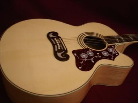 Moustache-Style Gb-2867 Akustik Gitar Ağaç Eşiği - Thumbnail