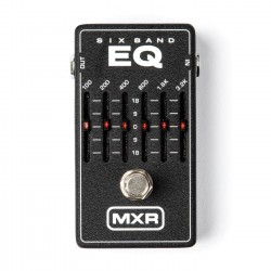 MXR - MXR M109 6 Band Graphic Ekolayzer Pedalı