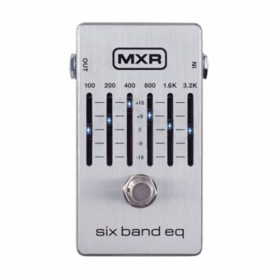 MXR M109S 6 Band EQ Pedalı