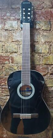 Nevada - Nevada Sap Çelikli Siyah Klasik Gitar