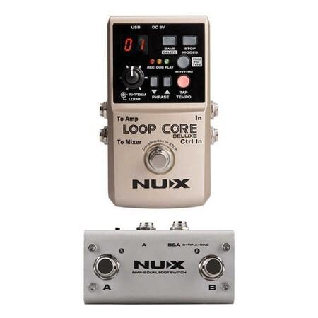 Nux - Nux Loop Core Deluxe Looper ve Kontrol Pedalı