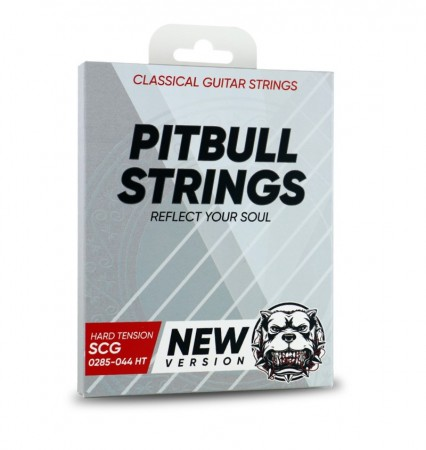 Pitbul Gitar Telleri - Pitbull Strings SILVER Series High Tension Klasik Gitar Teli