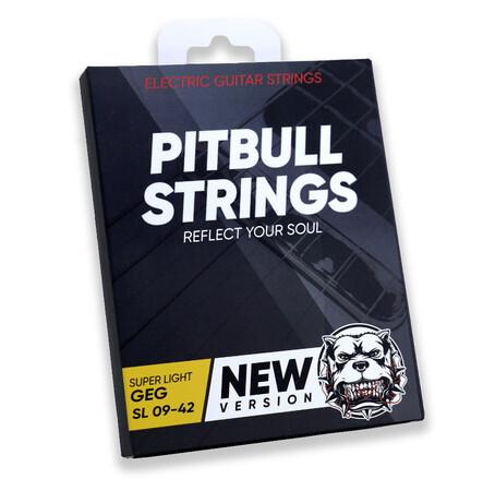 Pitbull - Pitbull Strings GEG SL 09-42 Yeni Version süper Light Elektro Gitar Teli