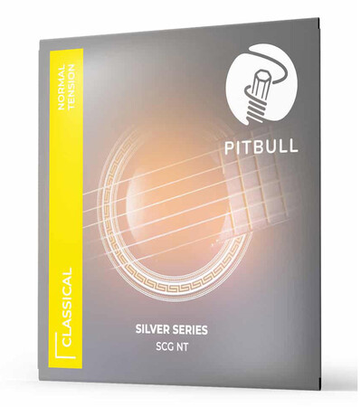 Pitbull - Pitbull Strings SCG-0280043 SILVER Series Normal Tension Klasik Gitar Teli