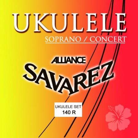Savarez - Savarez 140R Soprano/Consert Ukulele Tel Takımı
