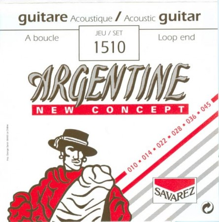 Savarez 1510 Argentine Gipsy Jazz Gitar Teli 10-45