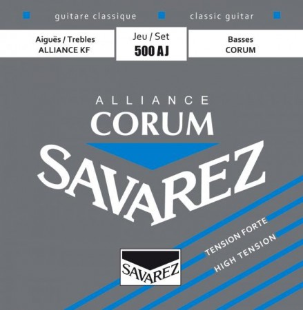 Savarez - Savarez 500AJ Alliance Corum Blue Klasik Gitar Teli