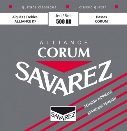 Savarez - Savarez 500AR Alliance Corum Rouge Klasik Gitar Teli