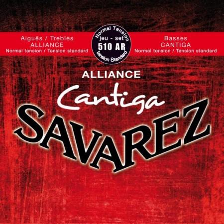 Savarez 510AR Alliance Cantiga Red Klasik Gitar Tel Takımı